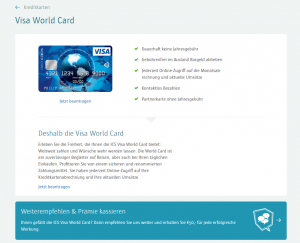 ICW Visa World Card